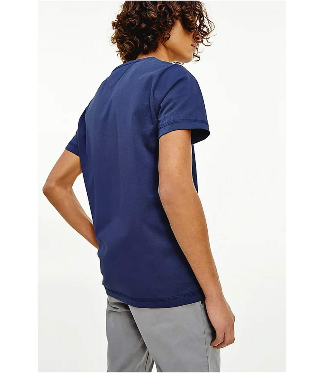 Tee shirt coton bio   -  Tommy Jeans - Homme