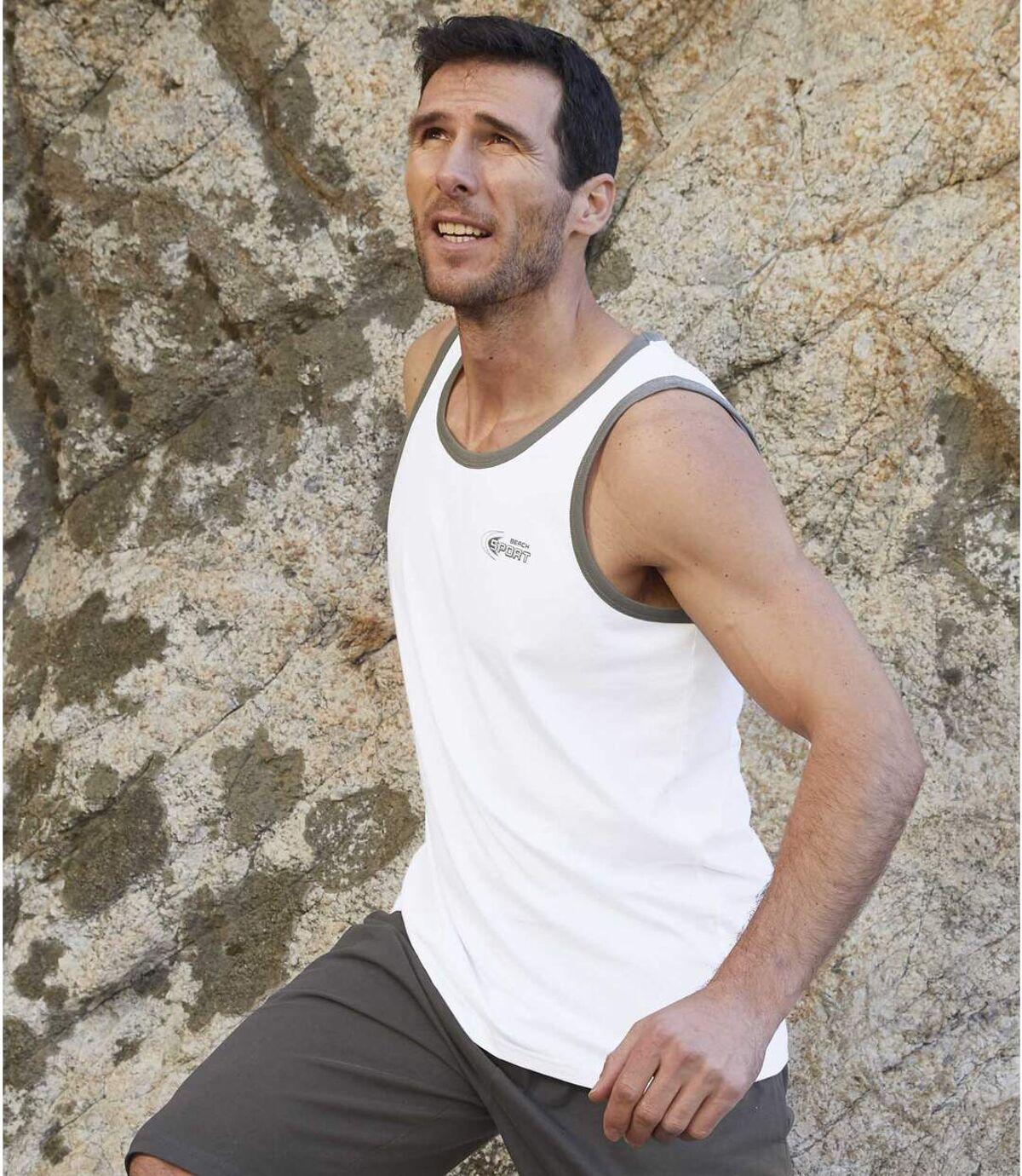 Zestaw 3 podkoszulków Beach Sport Atlas For Men