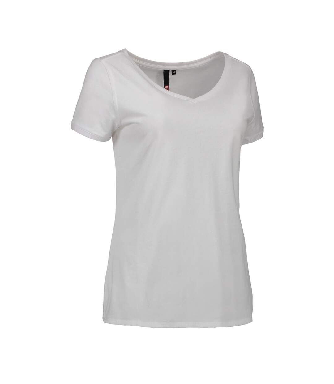 Id Casual - T-Shirt À Col V - Femme (Blanc) - UTID417