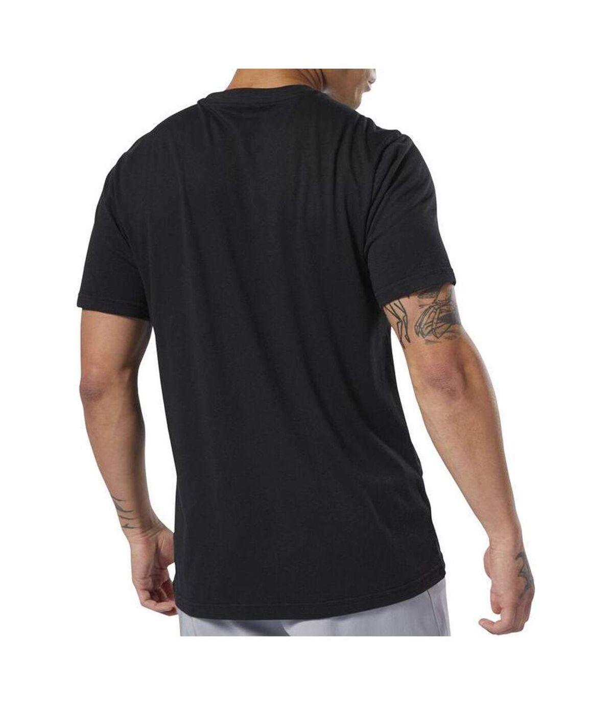 T-shirt Noir Homme Reebok UFC