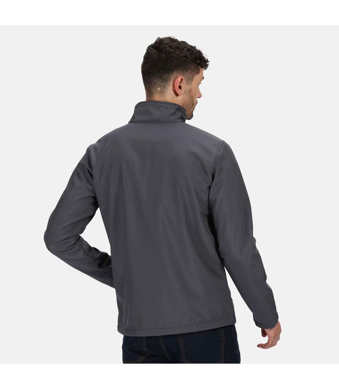Regatta Mens Ablaze 3 Layer Softshell Jacket (Seal Grey) - UTRG5119
