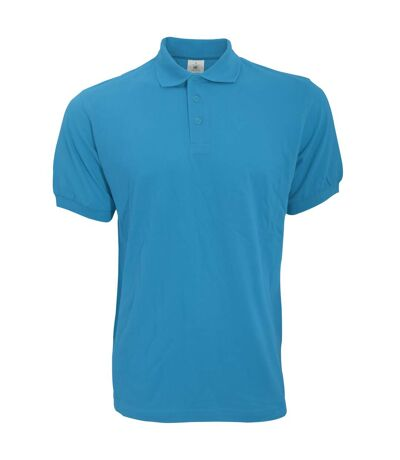 B&C Safran Mens Polo Shirt / Mens Short Sleeve Polo Shirts (Atoll) - UTBC103