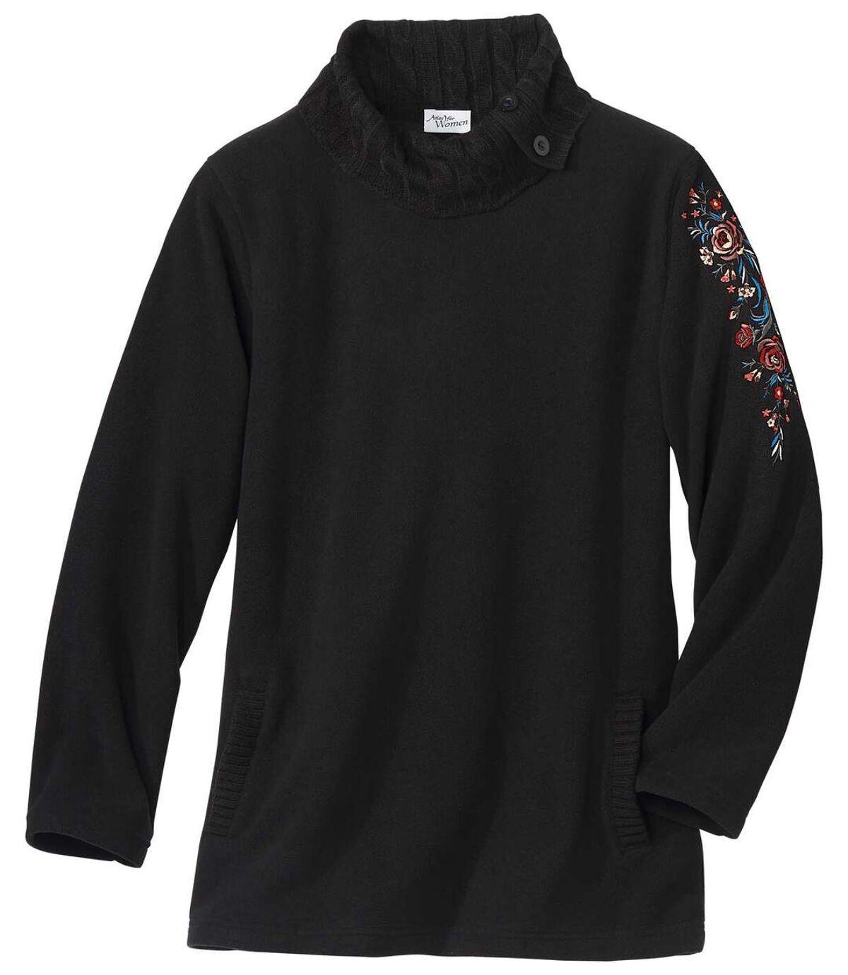 Fleece-Pullover im Tunika-Schnitt Atlas For Men