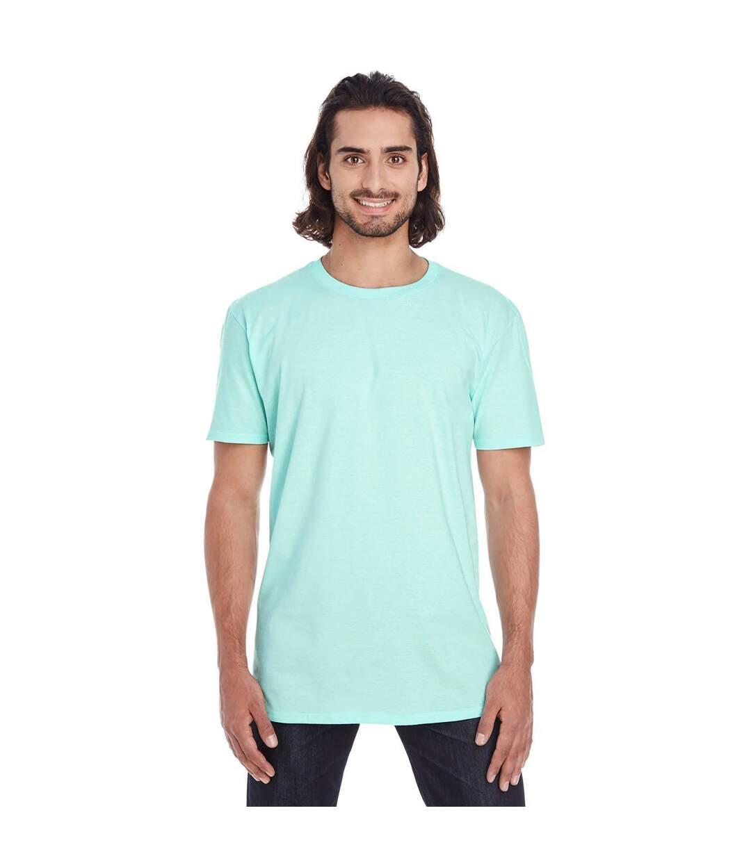 Anvil Mens Plain Short Sleeve Tri-Blend T-Shirt (Teal Ice) - UTRW3465