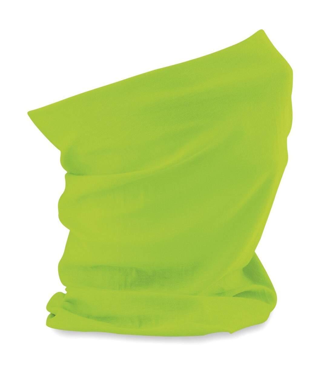 Echarpe tubulaire - tour de cou adulte - B900 - vert lime