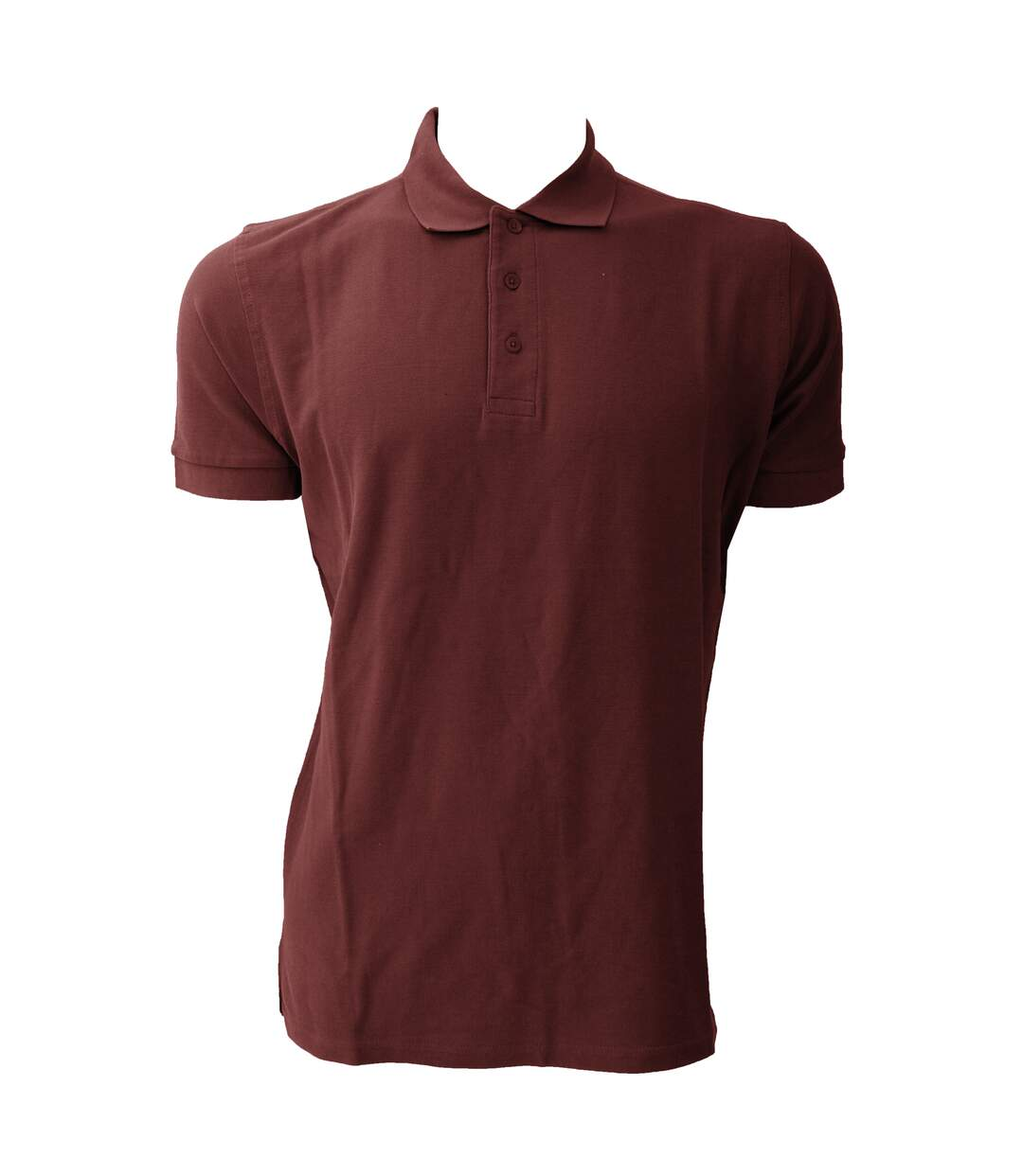 Jerzees Colours Mens Ultimate Cotton Short Sleeve Polo Shirt (Burgundy) - UTBC569