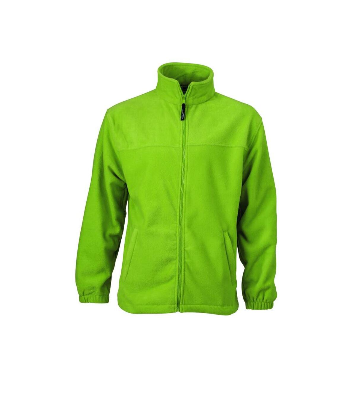 Veste polaire zippée homme - JN044 - vert citron