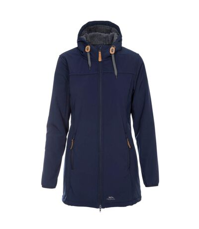 Trespass Womens/Ladies Kristen Longer Length Hooded Waterproof Jacket (Navy) - UTTP4195