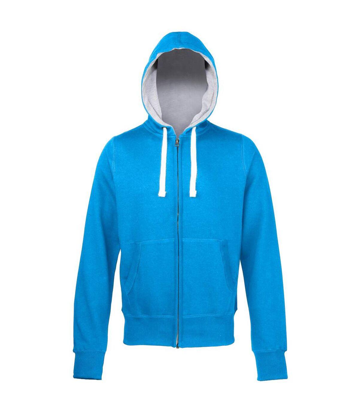 Awdis Chunky Premium Heavyweight Hooded Sweatshirt / Hoodie / Zoodie (Purple) - UTRW181