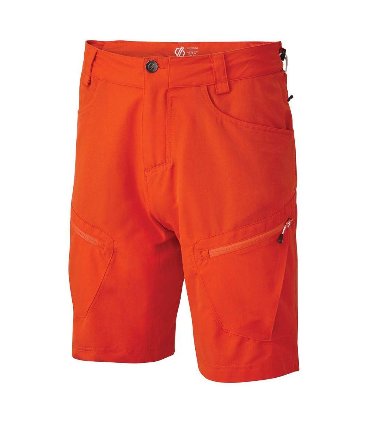 Dare 2B Mens Tuned In II Multi Pocket Walking Shorts (Athletic Blue) - UTRG4078