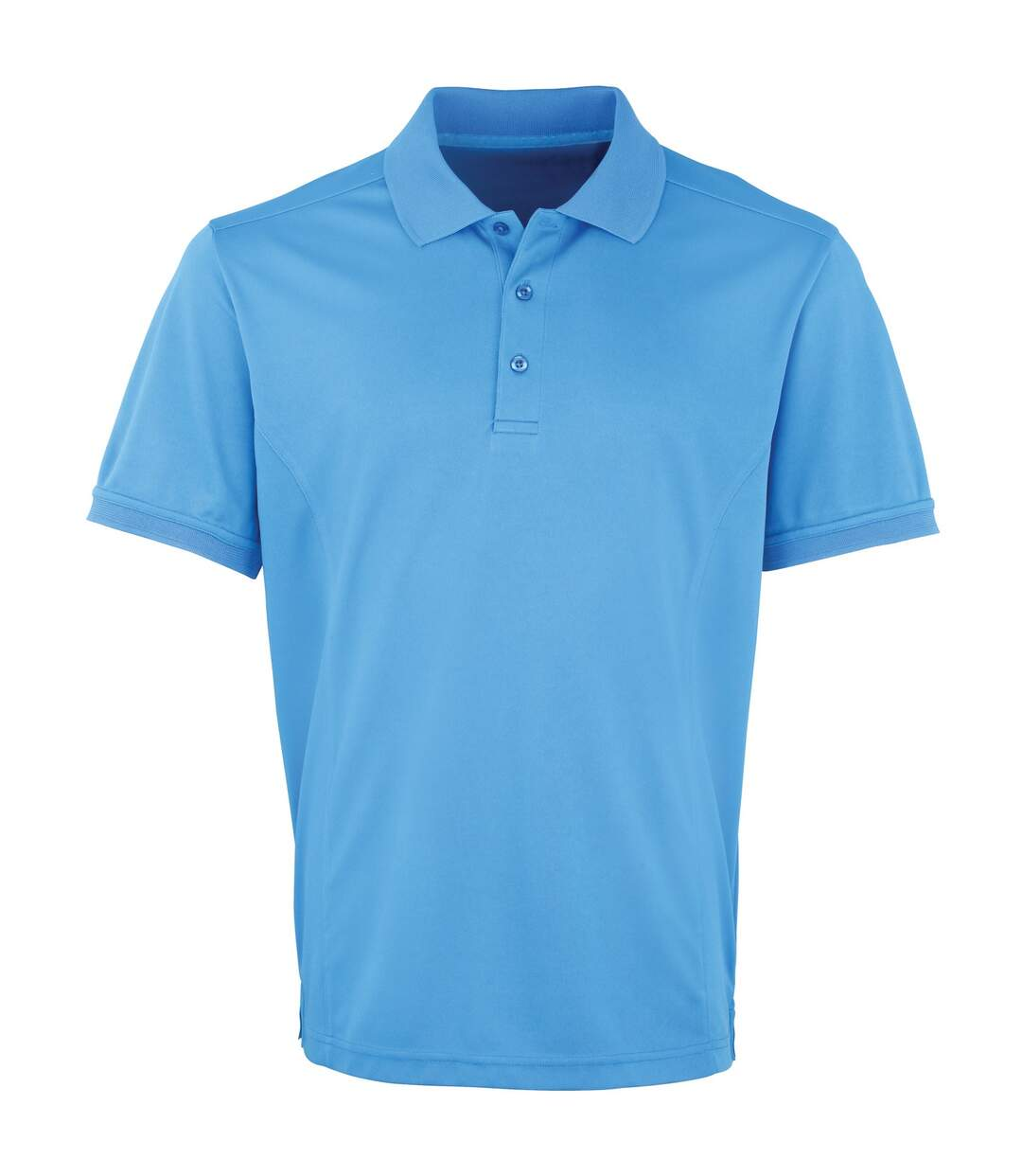 Premier Mens Coolchecker Pique Short Sleeve Polo T-Shirt (White) - UTRW4401