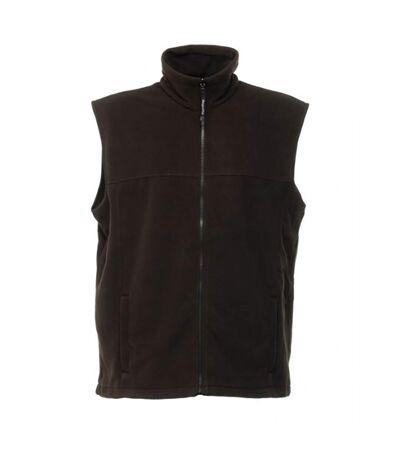 Regatta Unisex Haber II Full-Zip Bodywarmer Fleece Anti-Pill Jacket (250 GSM) (Black) - UTRG1445