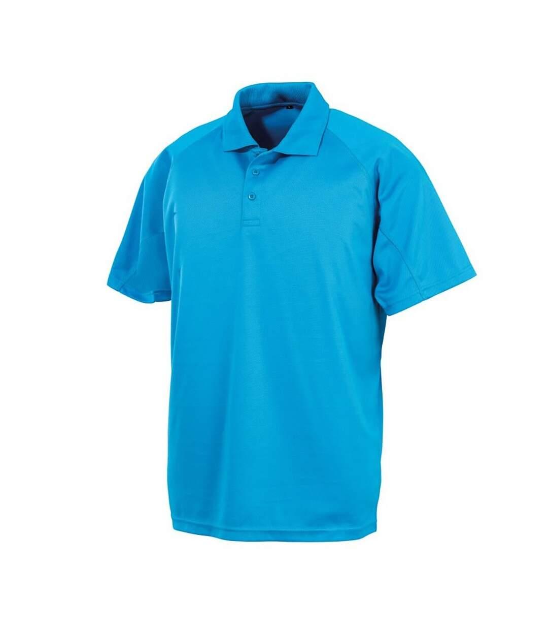 Spiro Impact Mens Performance Aircool Polo T-Shirt (Bottle Green) - UTBC4115