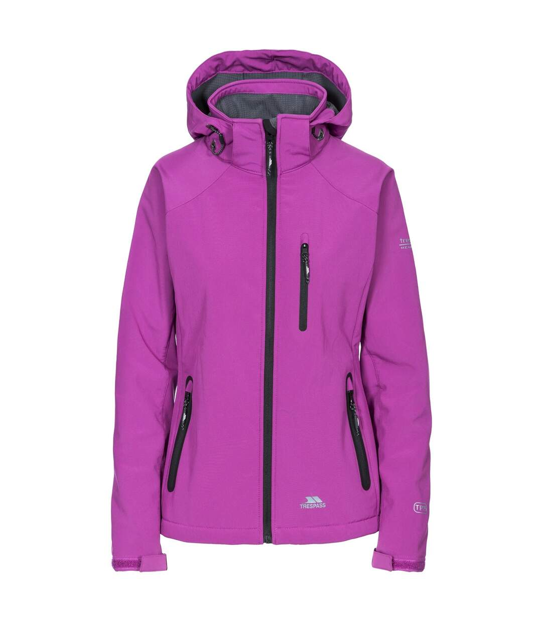 Trespass Womens/Ladies Bela II Waterproof Softshell Jacket (Purple Orchid) - UTTP3440