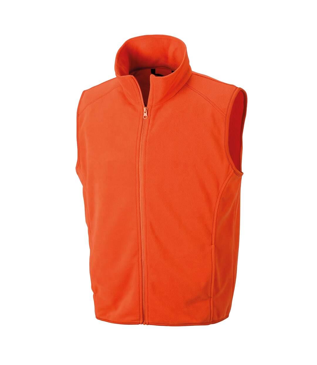 Result Core Mens Micro Fleece Gilet (Red) - UTPC3013
