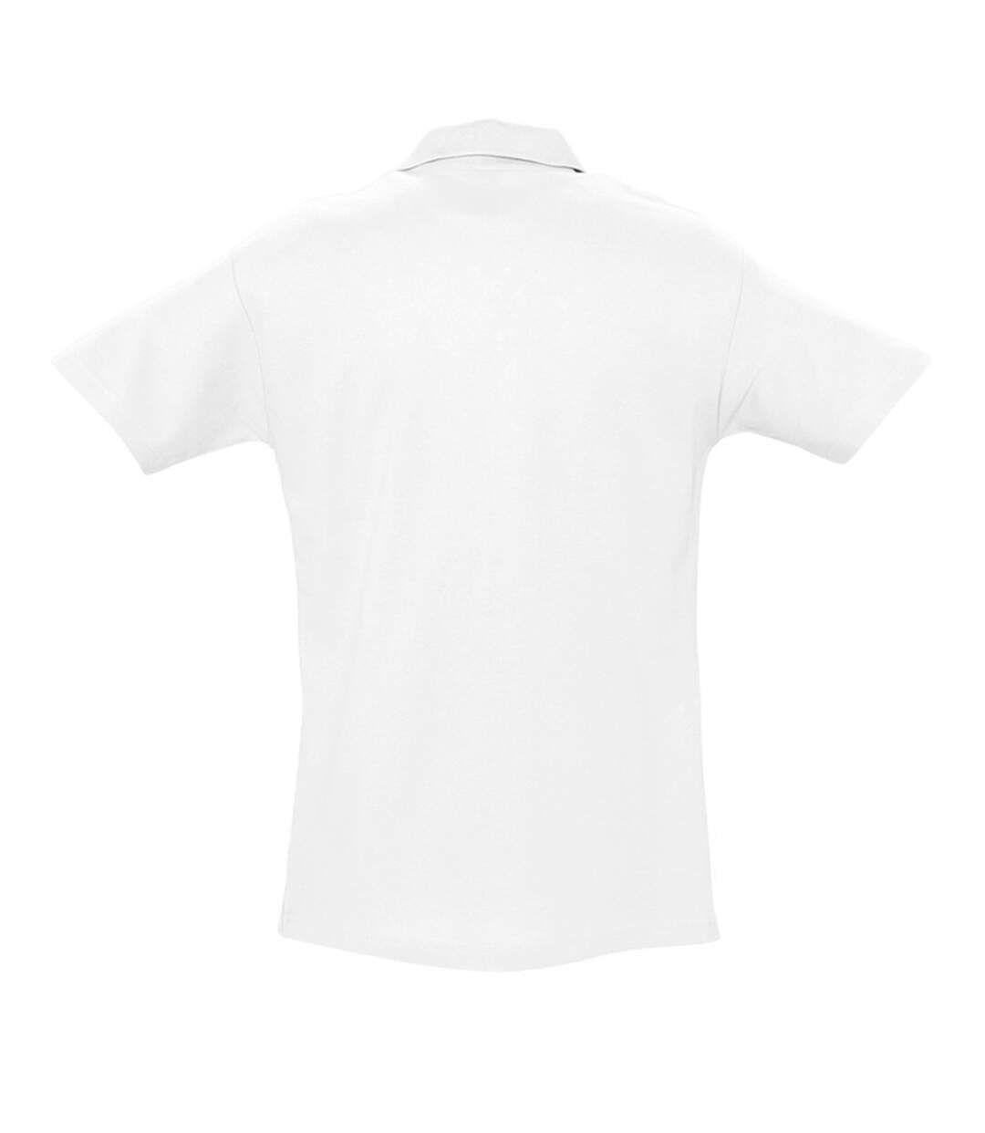 SOLS Mens Spring II Short Sleeve Heavyweight Polo Shirt (Gold) - UTPC320
