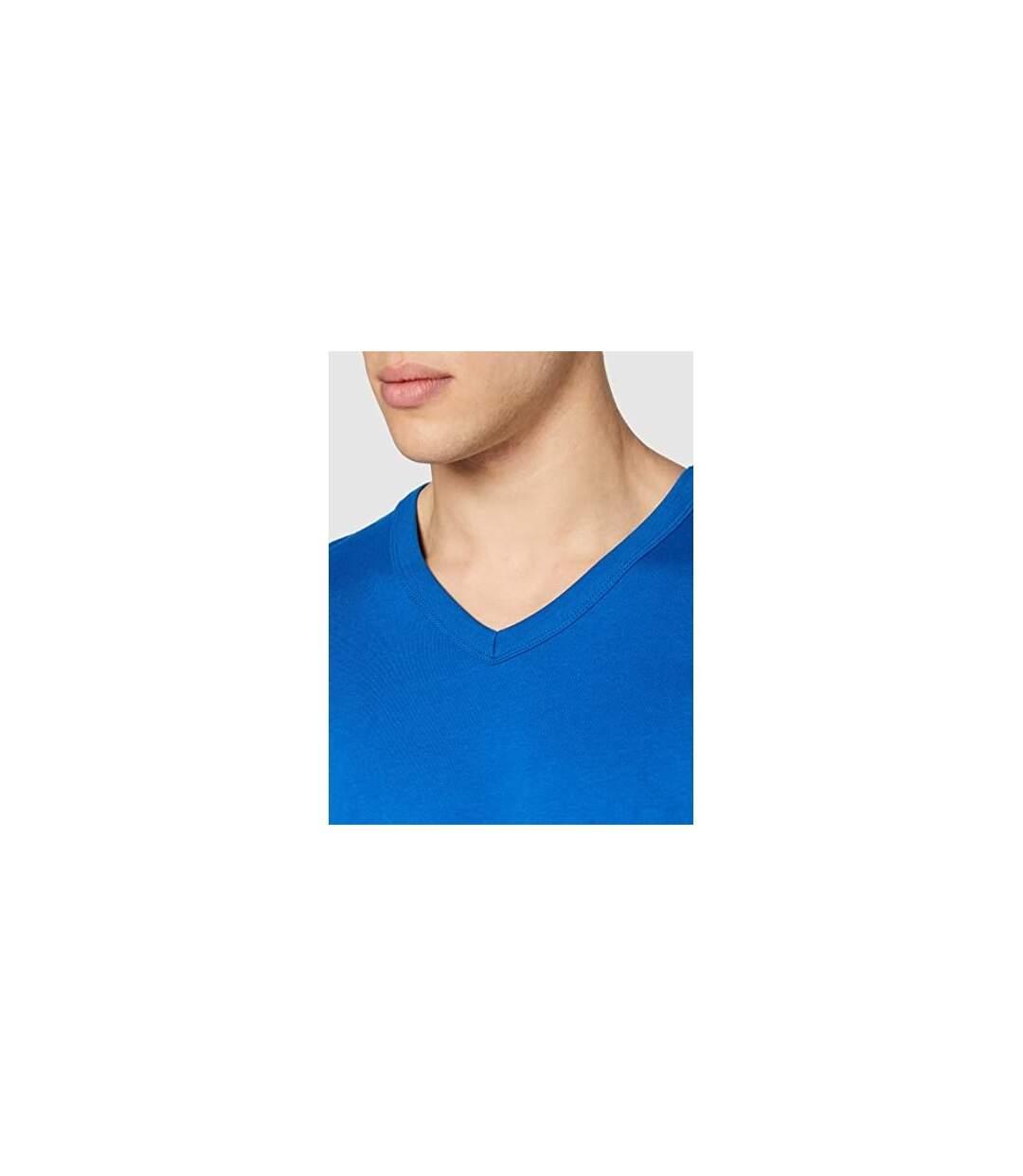 Stedman - T-shirt col V BEN - Homme (Bleu) - UTAB356