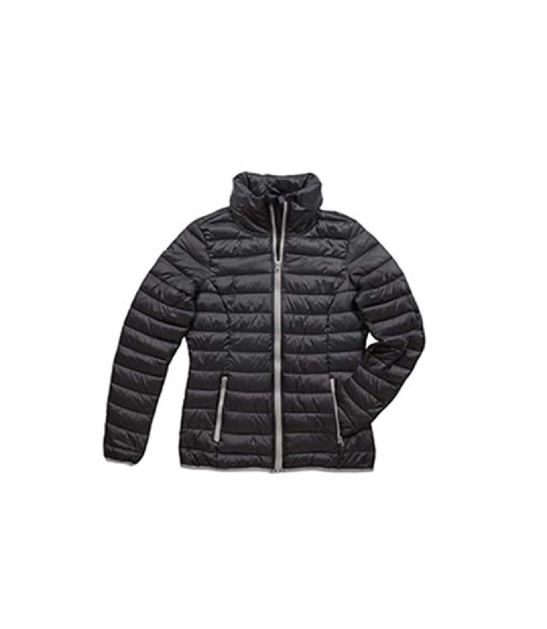 Stedman Womens/Ladies Active Padded Jacket (Black Opal) - UTAB313