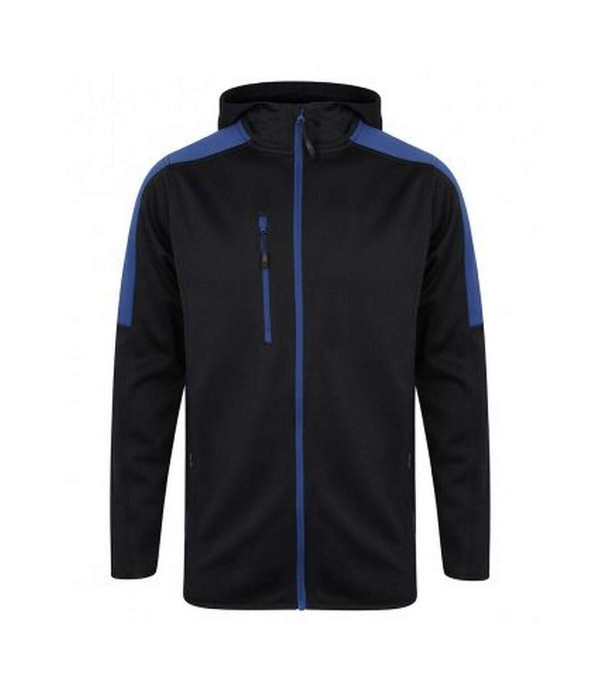 Finden & Hales Mens Active Soft Shell Jacket (Navy/Royal) - UTPC3079