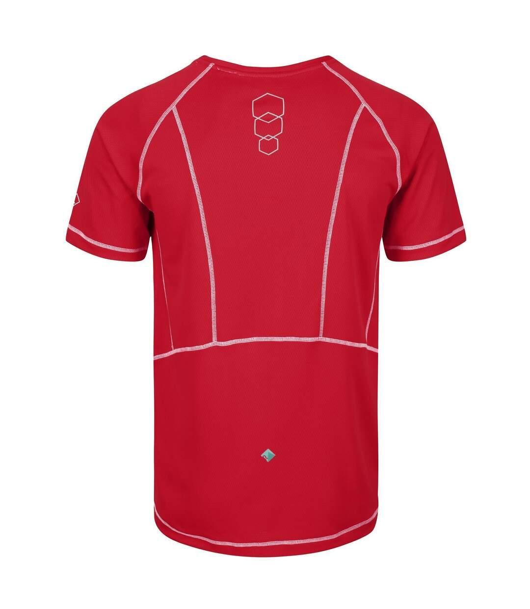 Regatta - T-shirt manches courtes VIRDA - Homme (Rouge) - UTRG3291