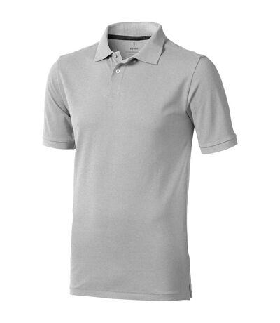 Elevate Mens Calgary Short Sleeve Polo (Pack of 2) (Grey Melange) - UTPF2498