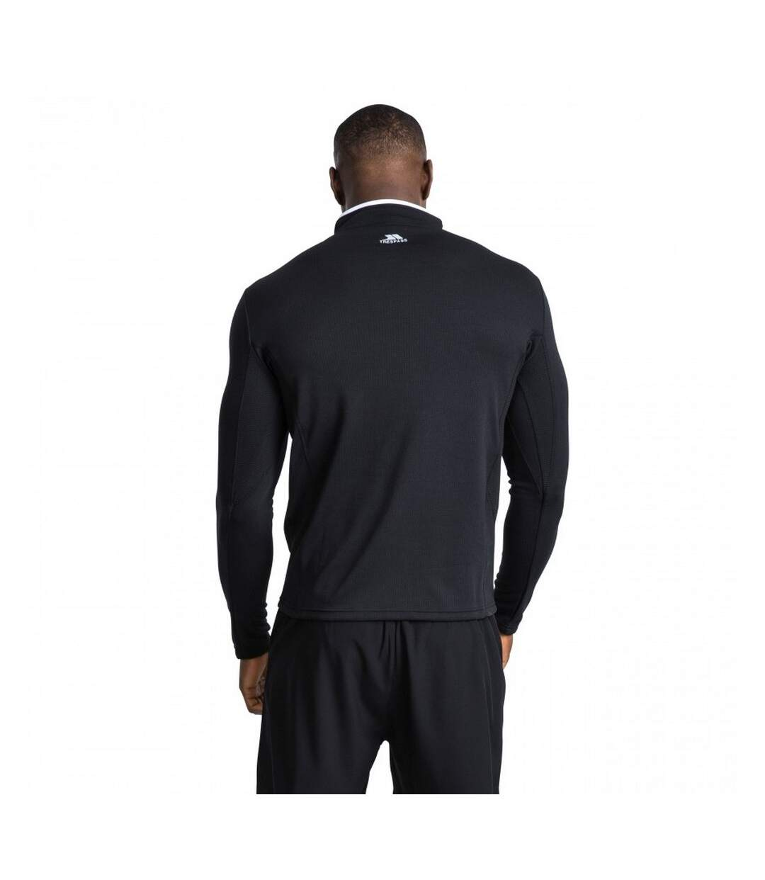 Trespass Mens Ronson Quick Dry Long Sleeve Active Top (Black) - UTTP3208