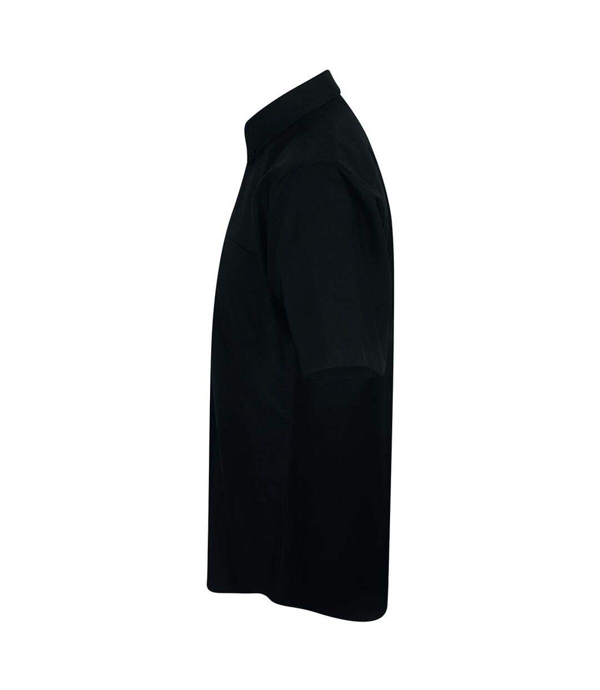 Henbury Mens Wicking Short Sleeve Work Shirt (Classic Red) - UTRW2698