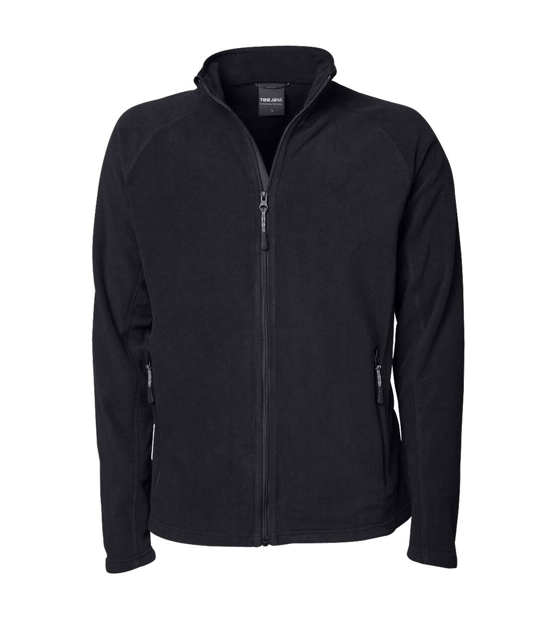 Tee Jays Mens Full Zip Active Lightweight Fleece Jacket (Dark Grey) - UTBC3362