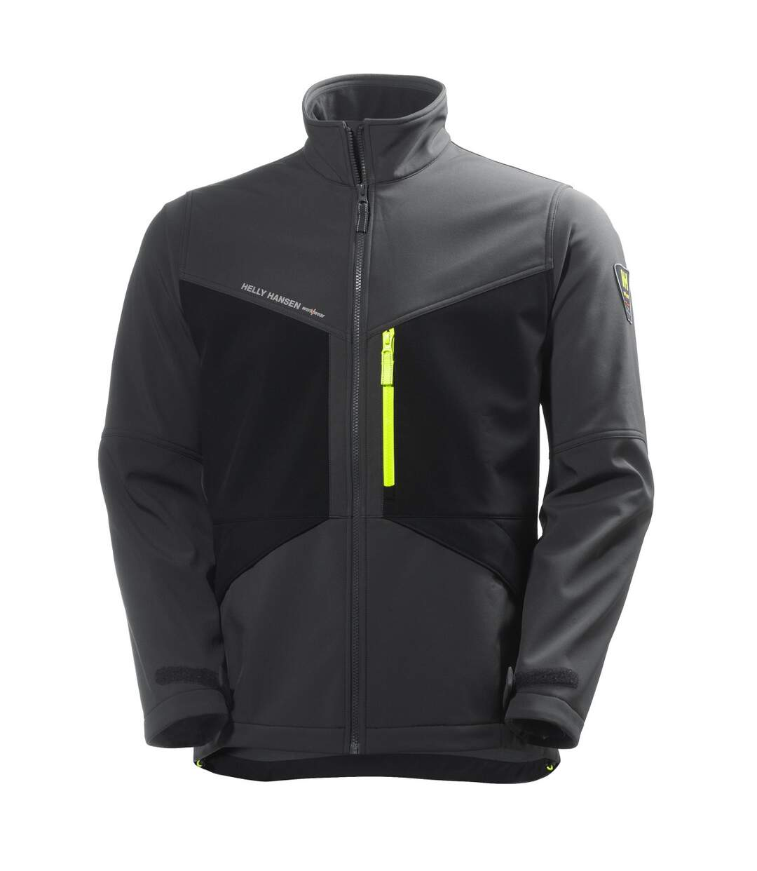 Helly Hansen Mens Aker Softshell Jacket (Slate Grey/Black) - UTBC3947