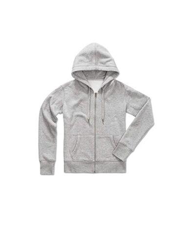Stedman - Sweatshirt Femme active zippé (Gris) - UTAB324
