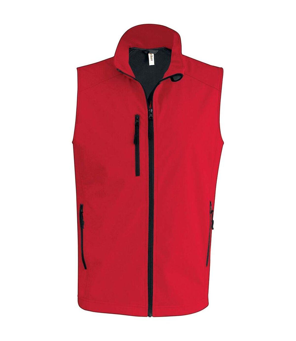 Kariban Mens Quilted Lightweight Down Bodywarmer (Red) - UTPC2667