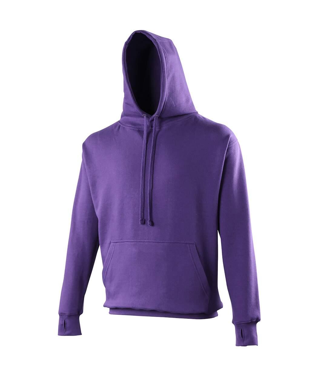 Awdis Mens Street Hooded Sweatshirt / Hoodie (Charcoal) - UTRW170