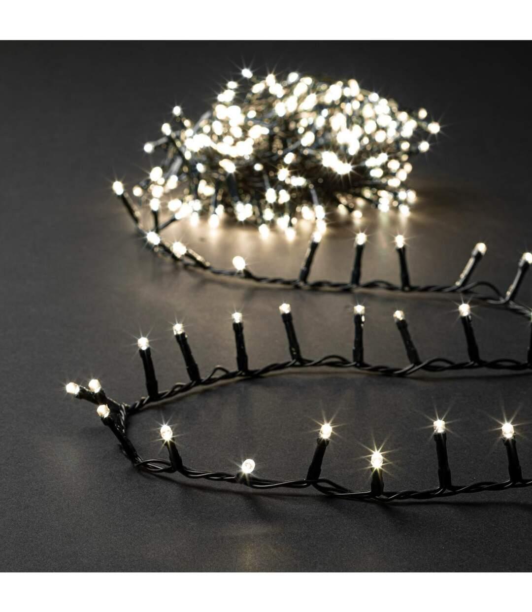 Feeric Christmas - Guirlande Lumineuse Intérieure et Extérieure 5 m 168 LED Blanc chaud et 8 jeux de lumière