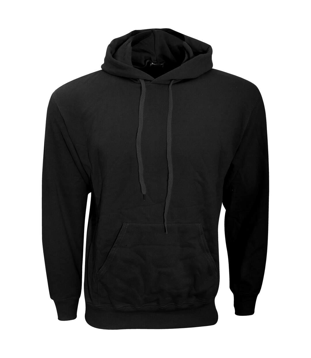 Fruit Of The Loom Mens Hooded Sweatshirt / Hoodie (White) - UTBC366