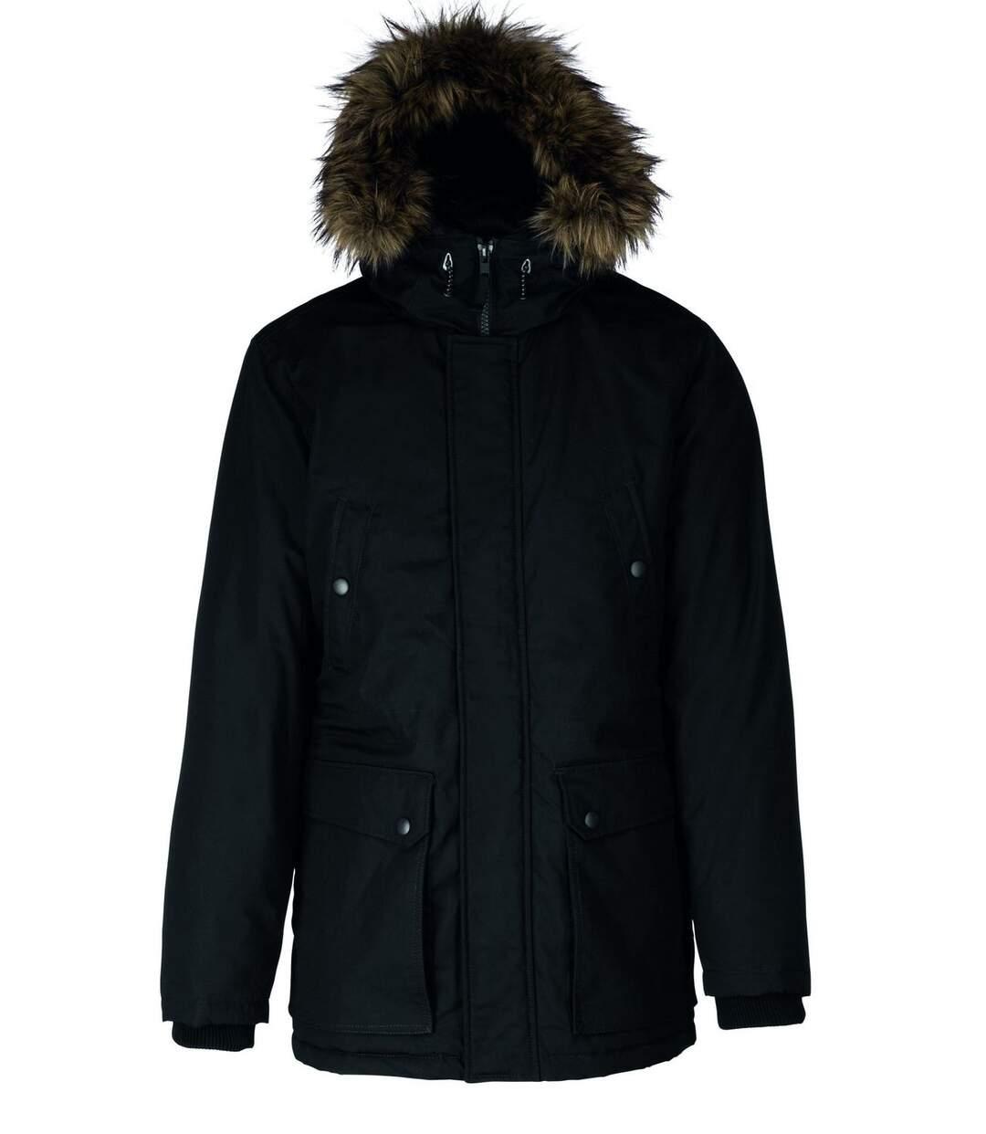 Parka pour grand froid - homme - K621 - noir