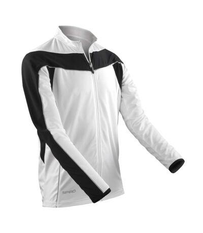 Spiro - Veste de cyclisme - Homme (Noir/Blanc) - UTRW2855
