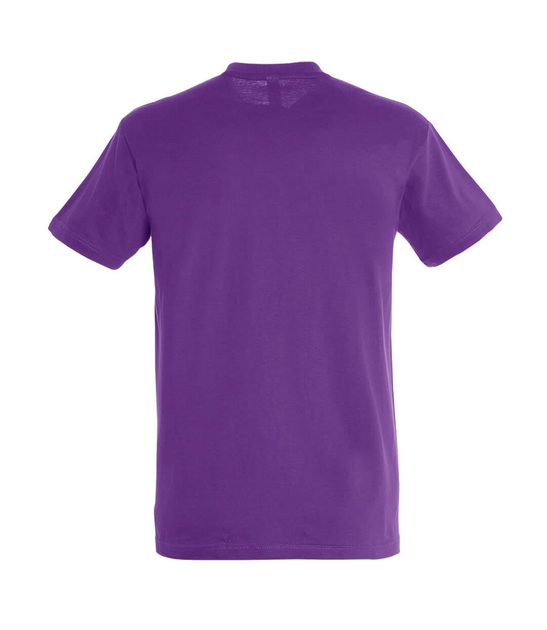 SOLS Mens Regent Short Sleeve T-Shirt (Light Purple) - UTPC288
