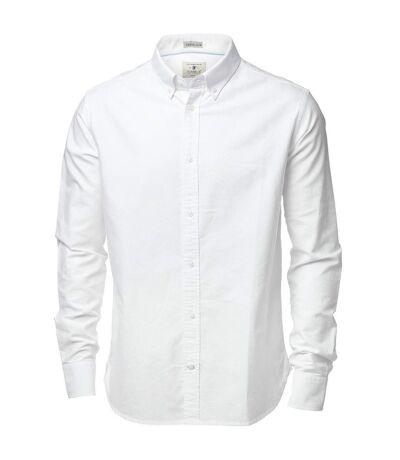 Nimbus Mens Rochester Oxford Long Sleeve Formal Shirt (White) - UTRW3633