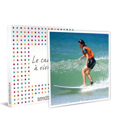 SMARTBOX - 2 cours de surf et 2 jours de location de matériel dans les Landes - Coffret Cadeau Sport & Aventure