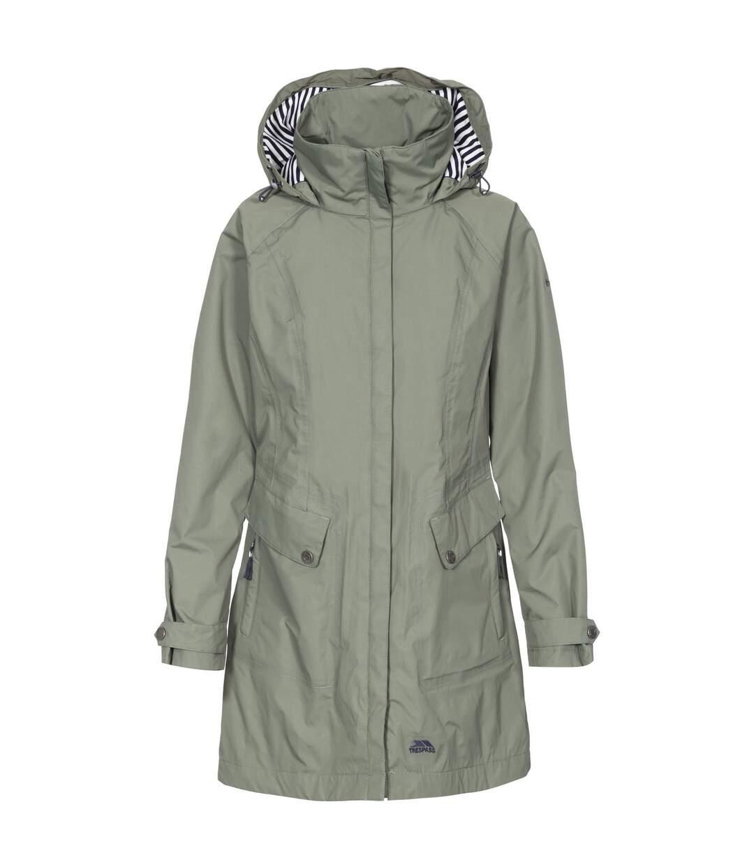 Trespass Womens/Ladies Rainy Day Waterproof Jacket (Red) - UTTP3613