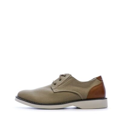Chaussures marrons homme Skechers Parton Wilcon