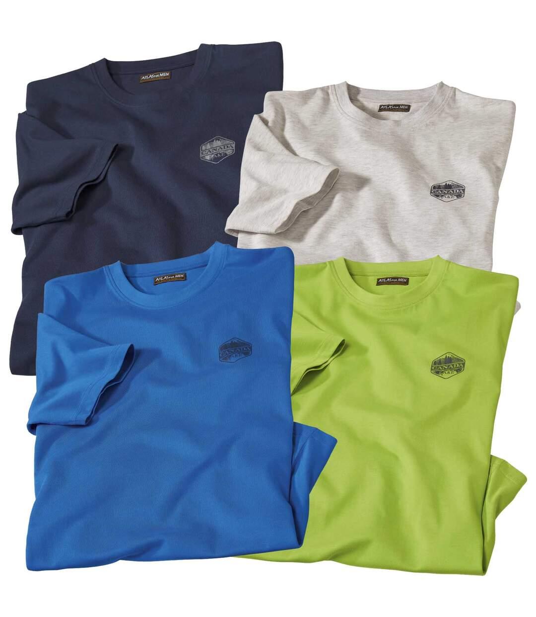 Súprava 4 tričiek Essential Canada