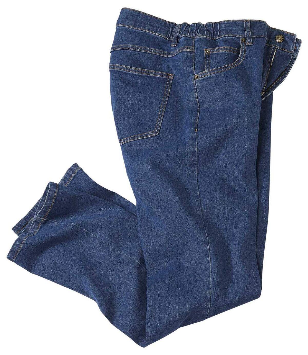 Strečové džínové kalhoty Comfort Plus Atlas For Men