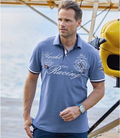 Poloshirt Yacht Racing