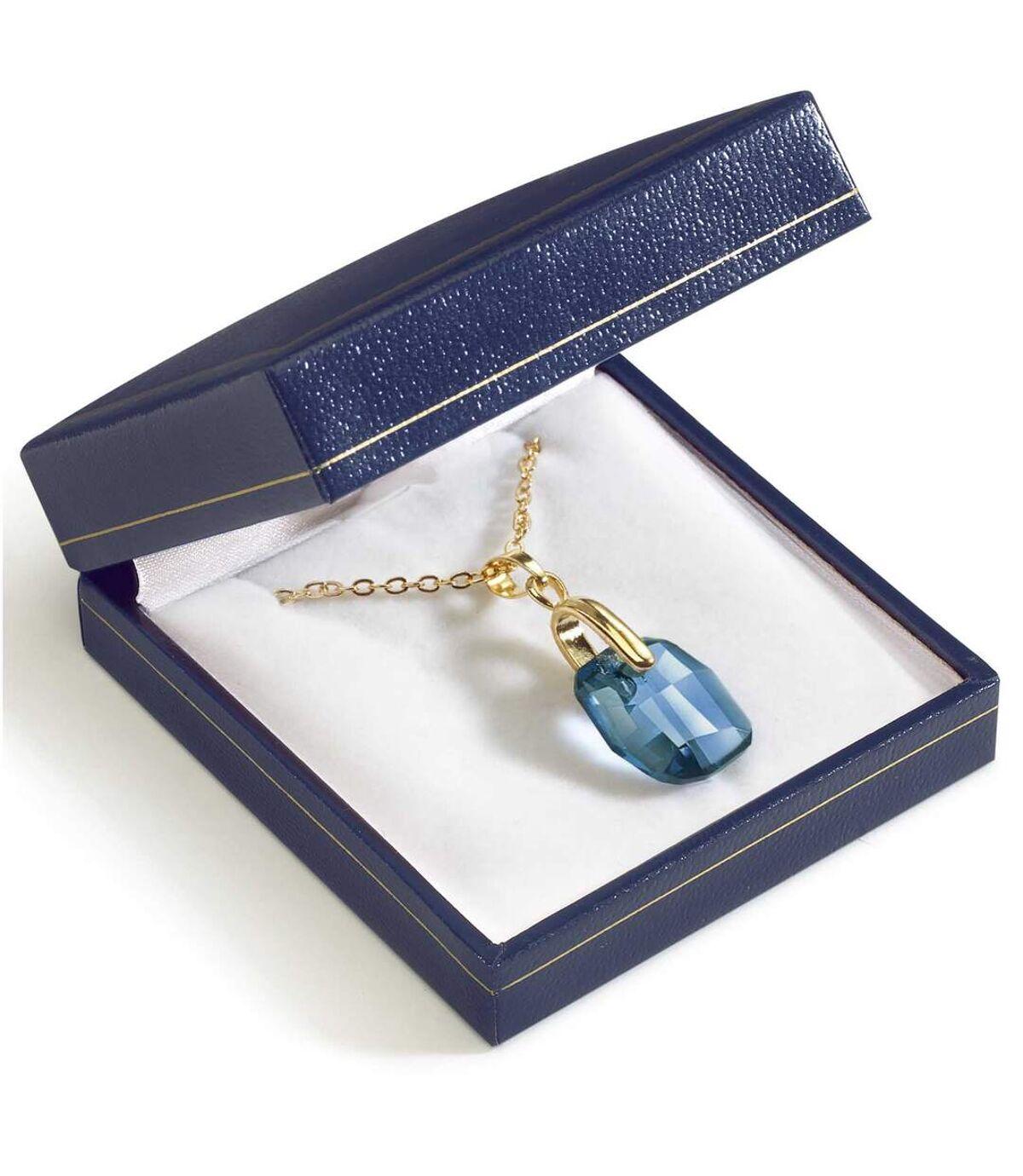 Die Halskette Ozean-Blau Atlas For Men