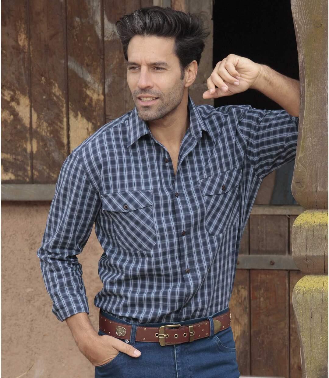 Kostkovaná košile Country Western