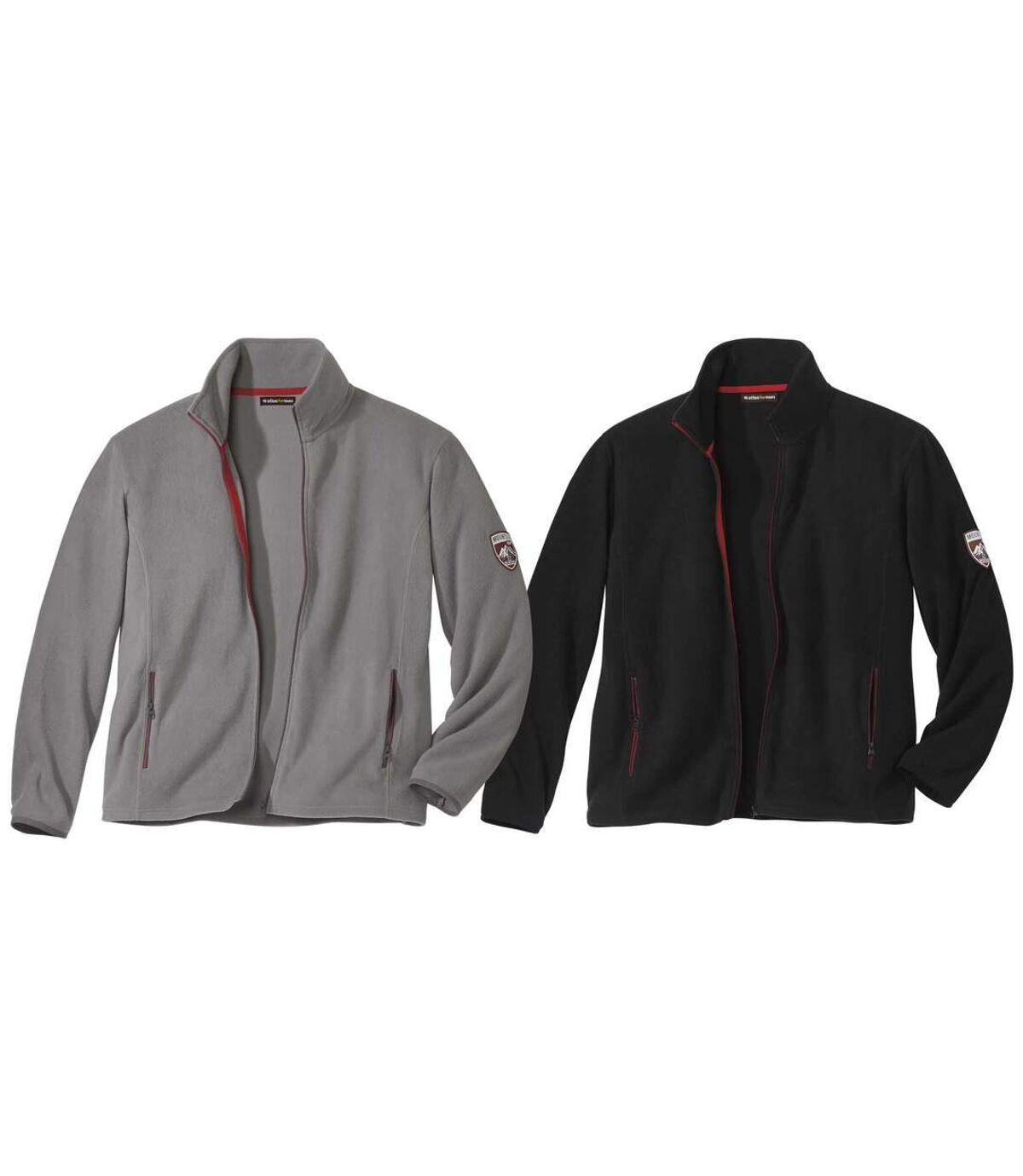 Pack of 2 Microfleece Jackets Atlas For Men