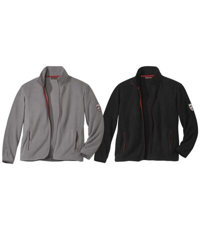Pack of 2 Microfleece Jackets