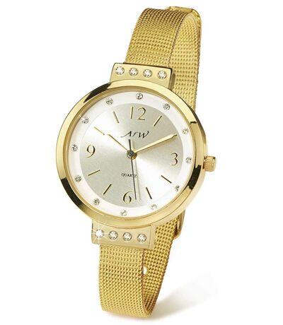 OZDOBNY zegarek Z kryształkami Swarovski®