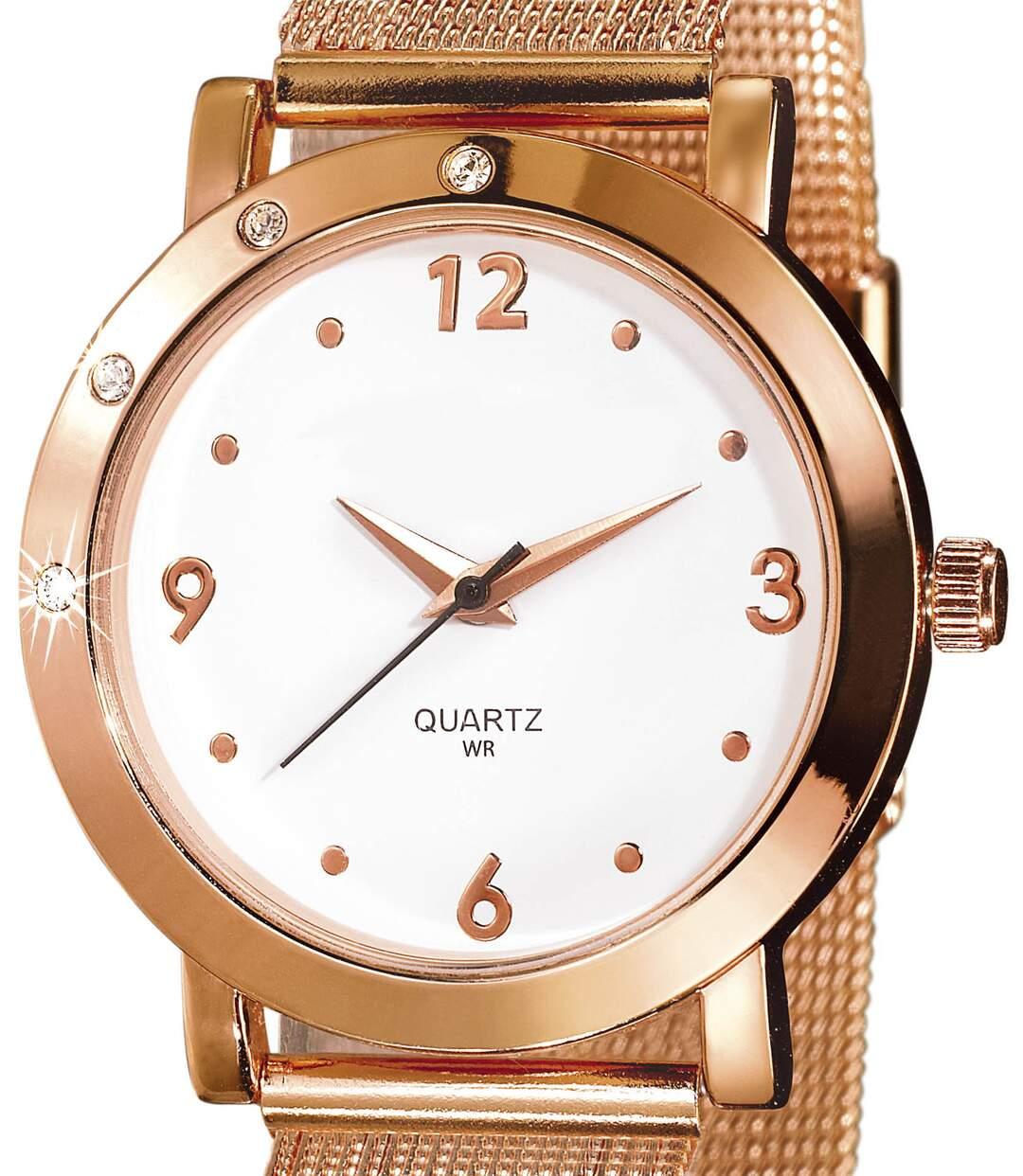 Horlogemet Swarovski® kristallen